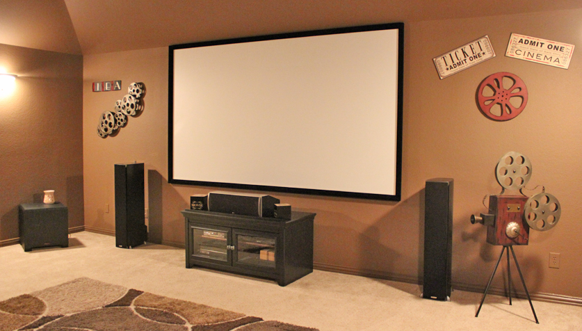 home theater installation frisco tx