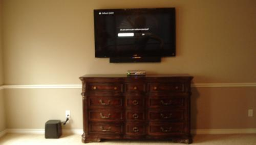 tv installation
