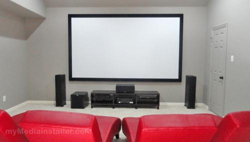 Home Theater Installation (Allen, Texas)