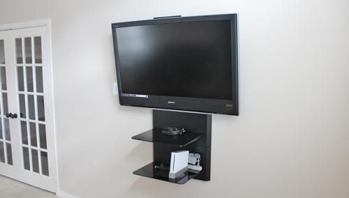 Tv Installation Game Room (Allen-Texas)